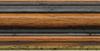 Holz Bilderrahmen M21 43-nußbraun/gold