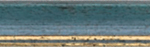 Holz Bilderrahmen M25 08-blau/gold