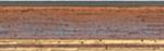 Holz Bilderrahmen M25 43-nußbraun/gold