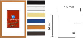 Holz Bilderrahmen M39 Antireflexglas 50x60