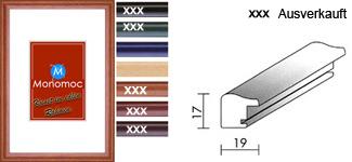 Holz Bilderrahmen M40 Normalglas 7x10