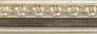 Holz Bilderrahmen M80 01-silber