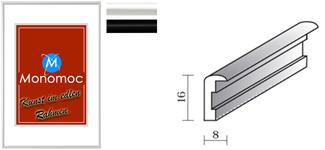 Alu Bilderrahmen M11 Normalglas 30x40